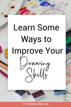 Develop your drawing skills for your surface pattern designs with these easy drawing exercise. Practice a little every day and watch your skills improve #drawingideas #designdrawing #drawingtips Drawing Skills, Drawing Tips, Textile Design, Fabric Design, Drawing Exercises, Surface Pattern Design, Repeating Patterns, Designs To Draw, Easy Drawings