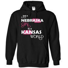 Just A Nebraska Girl In A Kansas World T-Shirts, Hoodies. VIEW DETAIL ==► Funny Tee Shirts
