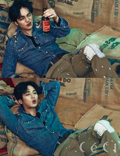 pic+of+byun+yo+han   More Of Byun Yo Han & Shin For CéCi's April 2015 Issue   Couch ...
