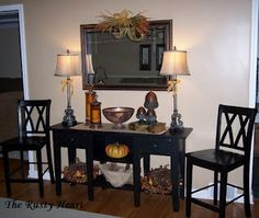 Fall Sofa Table