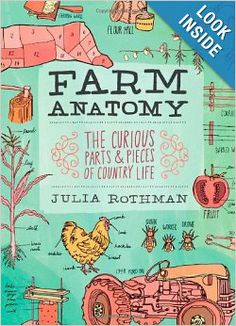 Farm Anatomy: The Curious Parts and Pieces of Country Life: Julia Rothman: 9781603429818: Amazon.com: Books