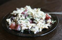 Crab Salad With Grapes and Dill #Recipe Vegan Crab Dill Grapes Recipe Salad http://ift.tt/2l150aY