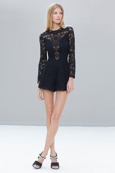 Messina Lace Romper by ALEXIS on @HauteLook