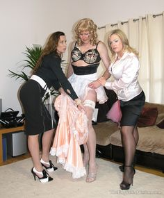 you are a sissy from now on