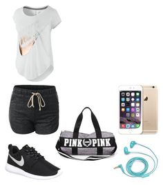 """outfit deportivo edicion verano"" by camila-antonia-pavez-fernandez on Polyvore featuring NIKE and FOSSIL"