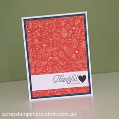 Scrap Stamp Share: CTMH Australasian Blog Hop - S1609 Blessed Beyond Measure SOTM