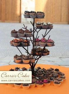 Twig-tree cupcake/cake stand :  wedding cake reception twig tree cupcake cake stand Cupcaketree