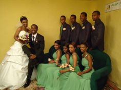 Ayni (my translator while in Ethiopia & now a daughter) and Mered - on their wedding day, January 14, 2012