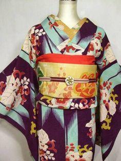 antique kimono&obi
