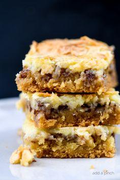 Tolle Desserts, Köstliche Desserts, Great Desserts, Delicious Desserts, Dessert Recipes, Bar Recipes, Easy Dessert Bars, Layered Desserts, Cheese Recipes