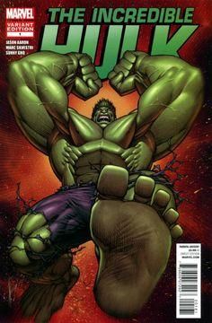 Incredible Hulk # 1 (Variant) perspective