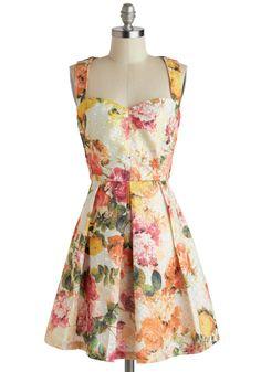 Get Frocked! Visit www.modcloth.com All About the Details Dress   Mod Retro Vintage Dresses   ModCloth.com