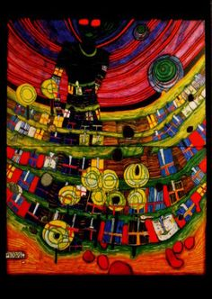 Friedensreich Hundertwasser : Blind Venus Inside Babel