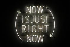 Now is Just Right Now by Egor Kraft, via Behance