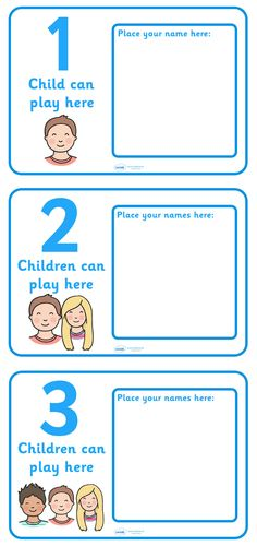 Twinkl Resources >> How Many Can Work Here Name Signs  >> Classroom printables for Pre-School, Kindergarten, Elementary School and beyond! Signs and Labels, Display
