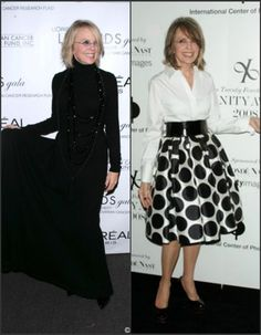 little black sequin: fashion icon: diane keaton