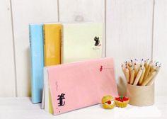 Love these little kitty notebooks~