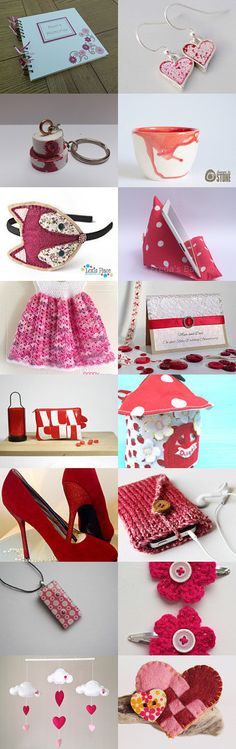 Strawberries and Cream by Sara-Lee Bull on Etsy--Pinned with TreasuryPin.com #annehermine