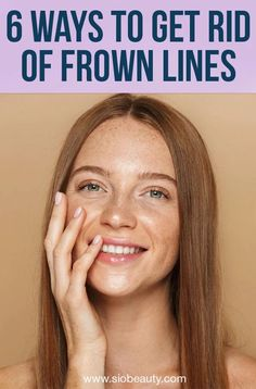 6 effective frown lines treatment options you'll want to add to your skincare routine Acne Skin, Acne Prone Skin, Skincare Routine, Beauty Routines, Skin Care Regimen, Skin Care Tips, Wrinkle Remedies, Face Care Routine, Dry Skin On Face