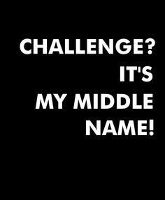 """Podobno gdzie diabeł nie może, tam babę pośle;) I coś w tym chyba musi być, skoro na słowo """"wyzwanie"""" reaguję tak, jakbym wygrała szóstkę w totolotka. Nowy projekt? Nowa inicjatywa? Zgłaszam się na ochotnika! Middle Name, Challenges, Names, Calm"""