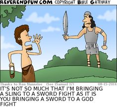 We all have low points as we fight the good fight but when I reflect on this cartoon it gives me the spiritual boost I need. Funny Cartoon Quotes, Jokes Quotes, Funny Cartoons, Cartoon Humor, Qoutes, Christian Cartoons, Christian Jokes, Jewish Humor, Religious Humor