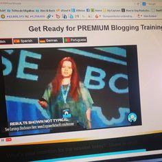 Hoje hà #Treino especial em #blogar ! #empreendorismo #cursosonline #dinheiroonline #formação