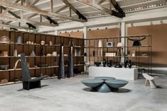 EWE Studio turns dance hall into its showroom in Mexico City