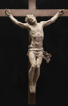 Cody Swanson; Christ on the Cross at the Opus Dei Oratory (Sculpture); Florence, Italy.