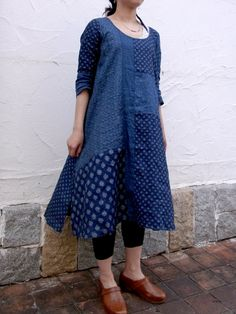 indigo + shibori= love (from Kapital)