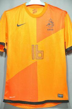 Holland Netherlands Van Persie Home Jersey Shirt 2012 European Cup World  Cup 2014