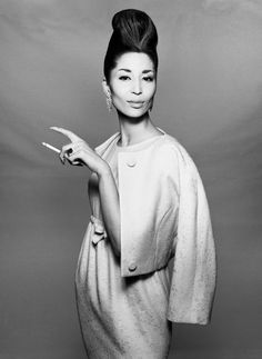 China Machado - died Sunday at age 86. Ms. Machado was the first nonwhite supermodel,   Her motto was Own yourself, own your beauty.   She was so elegant and beautiful!