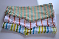No pattern kids pants