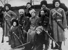Terek Cossacks, Siberia, Russian Civil War, c. 1917-1922