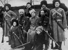Terek Cossacks, Siberia, Russian Civil War, c. 1917-1922