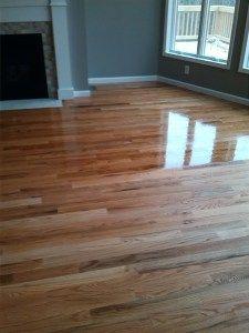 Solid Oak Sanded And Finished With Bona Woodline Polyurethane Hardwood Floors Flooring Companies Oak Hardwood Flooring