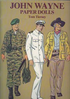 1981 John Wayne Paper Dolls Book by Tom Tierney | eBay