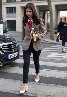 Best dressed at Paris Fashion Week - Telegraph