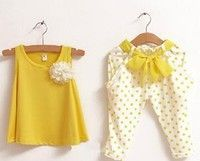 Creo que new 2014 children's clothing summer set child flower female vest polka dot harem pants kids clothes girls clothing sets te gustará. Agrégalo a tu lista de deseos   http://www.wish.com/c/5397ebda9aef300ca34c9b4c