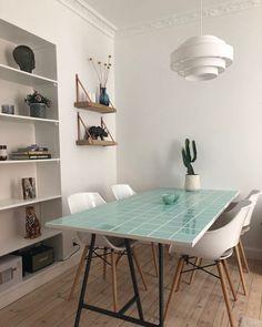 "KLINK DK on Instagram: ""Stort klinkebord😍 kan bestilles i ønsket størrelse og farve ☀️#klinkdk"" Room Interior, Home Interior Design, Interior Styling, Pastel Decor, Aesthetic Rooms, Little Houses, House Rooms, Apartment Living, Sweet Home"