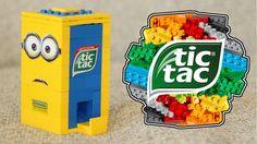 LEGO Minions Tic Tac Candy Machine