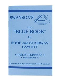 60 Page Book For Rafter & Stairway Layout Has Rafter Length Tables, Diagrams & Formulas