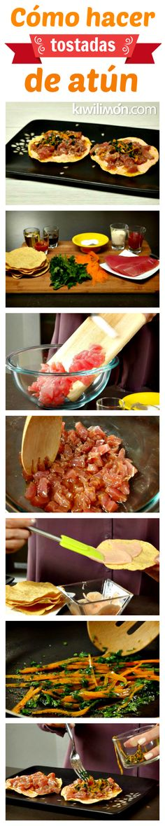 Te comparto mi secreto para saber cómo hacer unas deliciosas tostadas de lonja de atún marinado, ya sea para botana o plato fuerte. ¡Quedarás como una gran anfitriona!