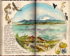 be candid. Art journal pages and scrapbook inspiration - ideas for travel journaling, art journaling, and scrapbooking.Art journal pages and scrapbook inspiration - ideas for travel journaling, art journaling, and scrapbooking. Art Journal Pages, Sketch Journal, Artist Journal, Art Journals, Travel Journals, Journal Ideas, Bible Journal, Kunstjournal Inspiration, Sketchbook Inspiration