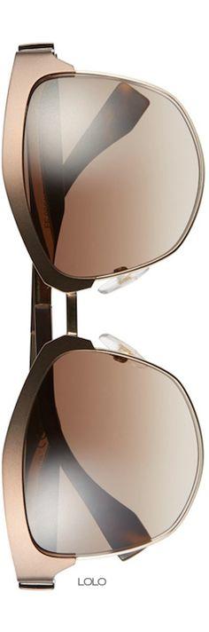 Fendi 55mm Retro Sunglasses   LOLO❤︎