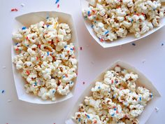 4th of july popcorn // a pretty cool life