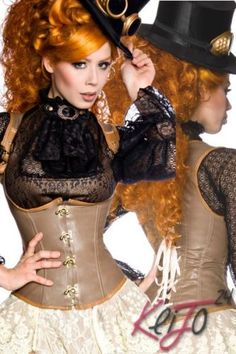 Sexy-Steampunk-Sub-Corsage-Corset-Bustier-Lingerie-Gothic-Carnival-Vintage-New