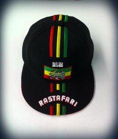 Rastafari   Lion Of Judah Flag   Ball Cap (Black) c77959398883