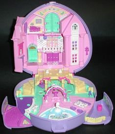 Polly Pocket wedding... this one was totally my favorite because it had a horse and carriage!