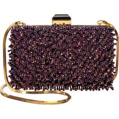 Lanvin Beaded Minaudière (€980) ❤ liked on Polyvore featuring bags, handbags, clutches, bolsas, purses, strap purse, beaded hand bags, lanvin handbags, beaded clutches and hand bags