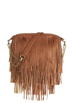 Girl's Best Fringe Bag. Once you skip out the door for the day, you can rely on this fringed bag by Steve Madden to keep you organized! #brown #modcloth